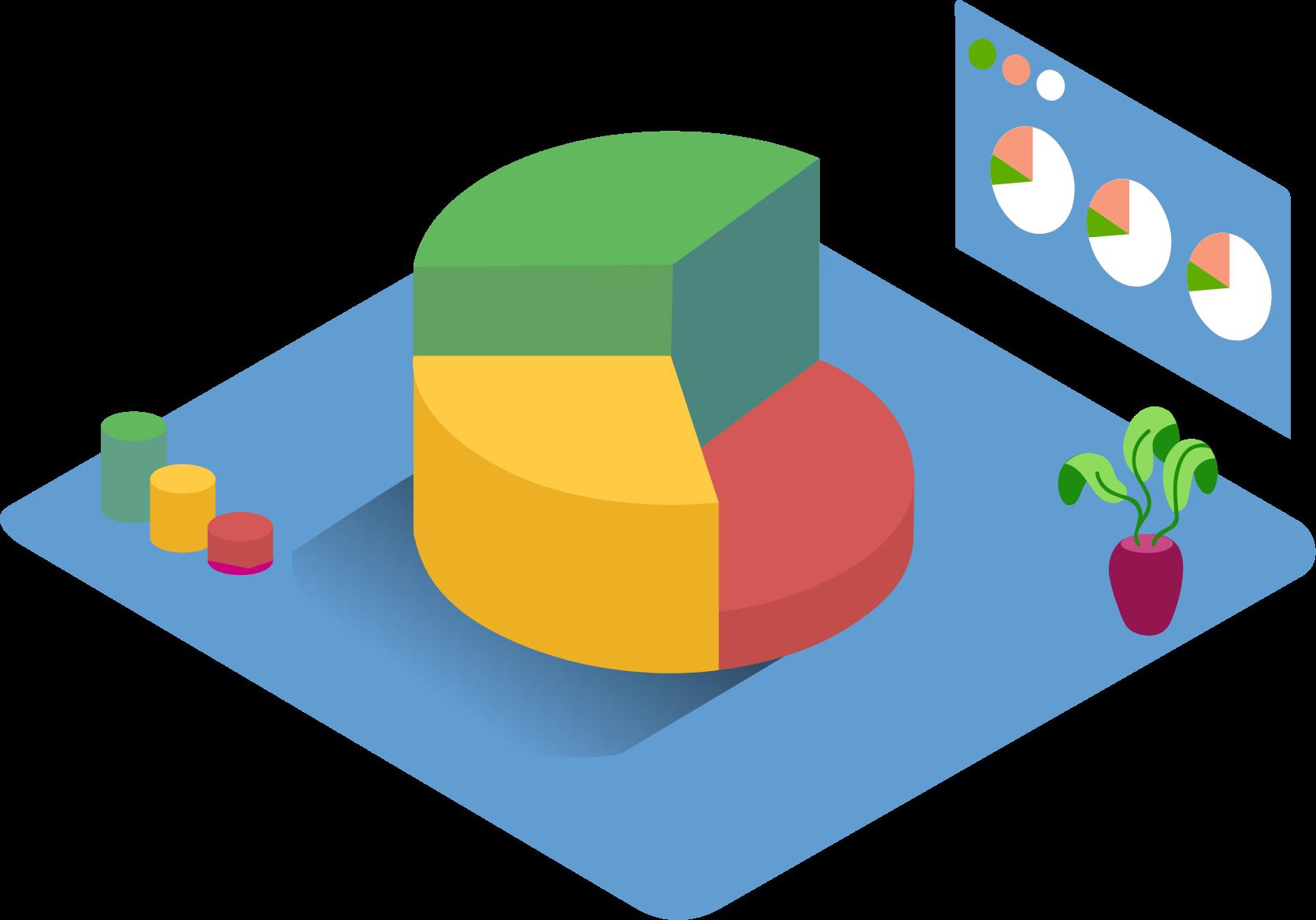Pie chart _Isometric